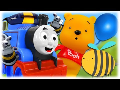 Train Thomas to the Rescue - Winnie the Pooh and Honey Episode 1