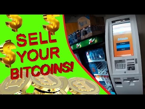 Bitcoin ATM   How to sell Bitcoins