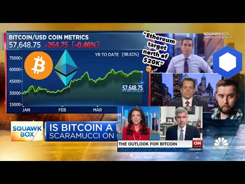 "CNBC ""Ethereum value/price over Bitcoin"". ""Ethereum to $20K-50K"" Chainlink Sergey..."