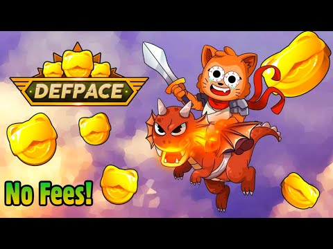 TOP NFT GAMES: DEFPACE(NO FEES!) GET IN EARLY FOR UPCOMING CRYPTO GAMEs!!