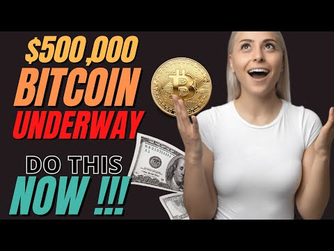 $500,000 Bitcoin is COMING, $7.80 Dogecoin, DO THIS NOW before CRYPTO GOES UP BY 10X !!!