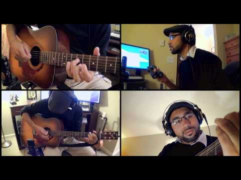 """TLoZ: A Link to the Past: """"Dark World"""" Acoustic Jam [Camera Test]"""