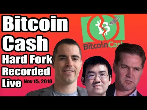 Did you miss the Bitcoin Cash hard fork? ABC vs SV. Recorded live. Action-packed with...