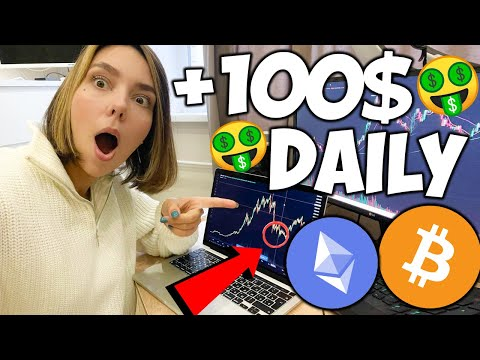 $100 a Day Crypto Trading Strategy for Beginners | Crypto Scalping Strategy for Bitcoin...