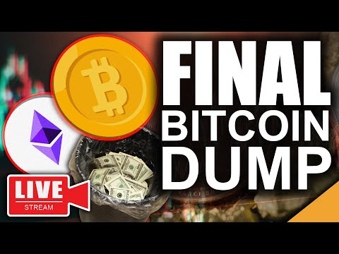 One More Giant Bitcoin Dump? (Final Crypto Shakeout Before Blastoff?)