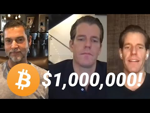 Winklevoss Twins : Bitcoin at $20,000 is the Trade of the Decade! (with Raoul Pal)