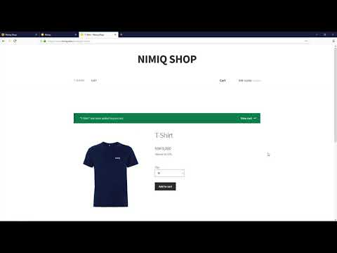 Crypto Swag Shop, Fast, Easy & Secure Payment - Nimiq