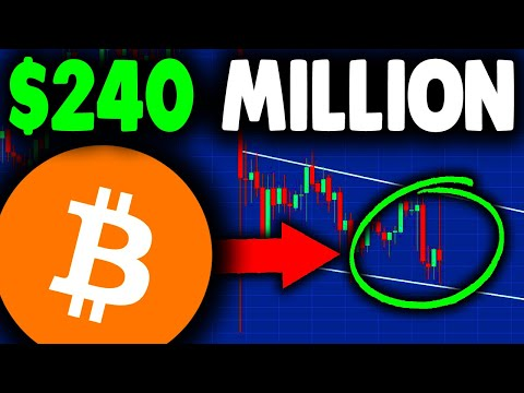 JUST BOUGHT $240 MILLION WORTH OF BITCOIN!!! BITCOIN NEWS TODAY & BITCOIN PRICE PREDICTION...