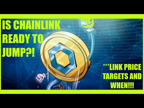 LINK COULD BE READY FOR BLASTOFF! HOW HIGH AND FAST COULD CHAINLINK GO?!
