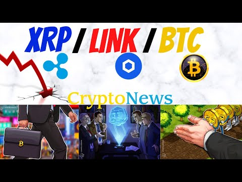 ChainLink / XRP Price Drops | Trade Incoming? | Bitcoin Stagnation What Next? Crypto News Today!