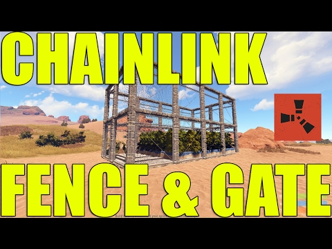 HOW TO BREAK A CHAINLINK FENCE & GATE EFFICITENTLY IN RUST