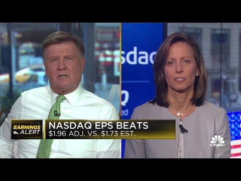 Nasdaq CEO on earnings beat, Coinbase's direct listing and the crypto economy