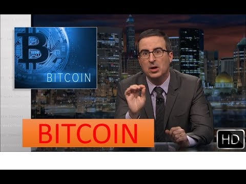 John Oliver - What is BITCOIN in Short
