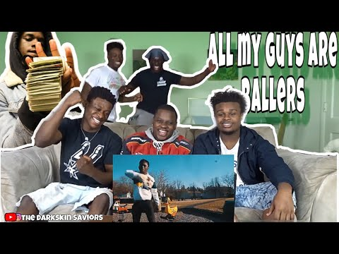 YungManny - All My Guys Are Ballers (Official Music Video)(Reaction)