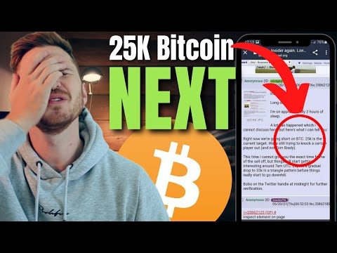Why BITCOIN Could CRASH to 25k but I DON'T think it will! (Crypto Market News)
