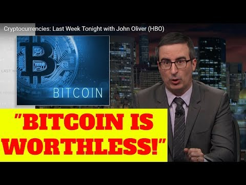 JOHN OLIVER ON BITCOIN AND CRYPTOCURRENCIES IN THE LAST WEEK TONIGHT!