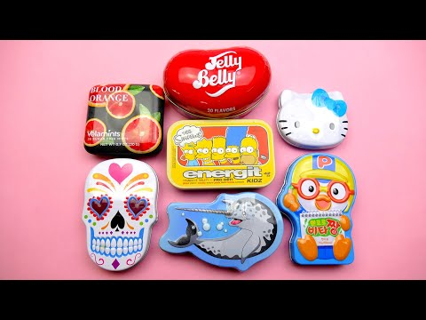 A Lot Of Candy | Jelly Belly Hello Kitty and Simpsons