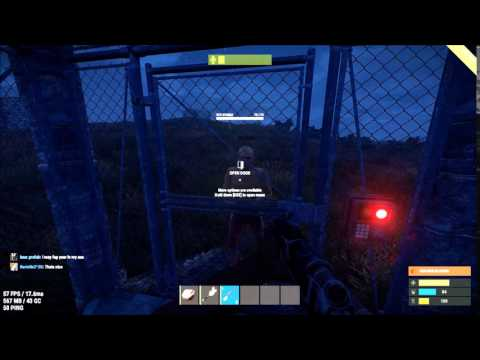 Rust Chainlink Fence Gate antihack-bug