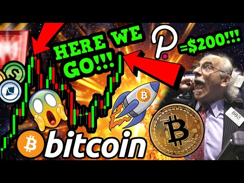 BREAKING!!!!! THIS NEWS WILL SKYROCKET BITCOIN to NEW HIGHS & POLKADOT $200!!!