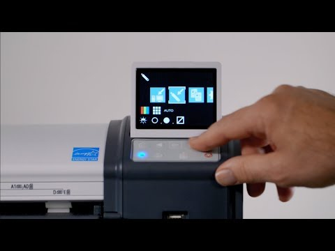 How to update the firmware on a Canon imagePROGRAF L Series MFP