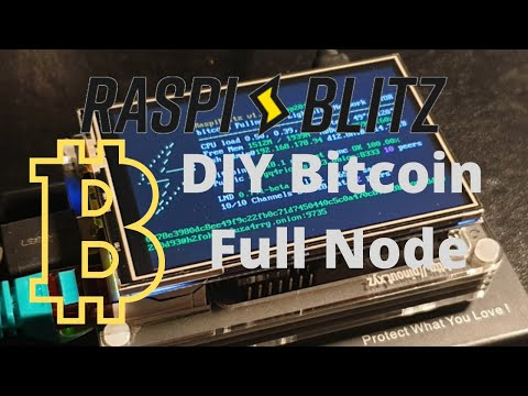 How To Build A Bitcoin Lightning Full Node, Raspiblitz Budget Crypto Project For Windows and Mac