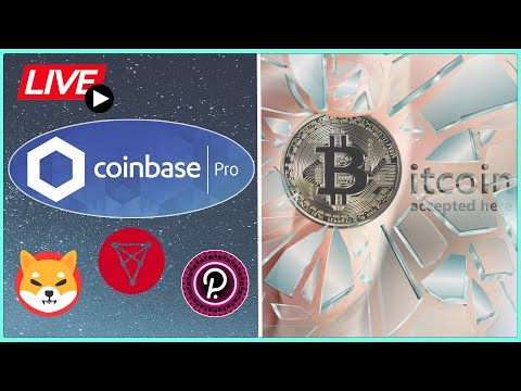 Bitcoin price BREAKOUT after this news! + new coins on Coinbase Pro!? Coffee N Crypto Live