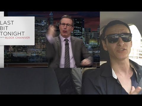 John Oliver BASHES Cryptocurrencies - Bitcoin Market Update