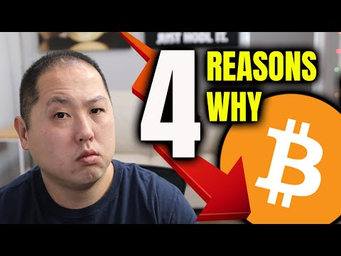 4 REASONS WHY BITCOIN IS FALLING