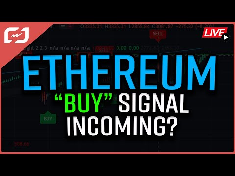 """Ethereum """"BUY"""" Signal Incoming?! ANOTHER Nation To Adopt BITCOIN! Coffee N Crypto LIVE"""