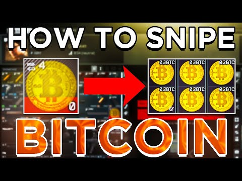 How to get the Barter Bitcoin Trade EASIER in Escape From Tarkov