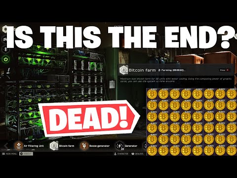 Escape From Tarkov - BITCOIN NERFED COMPLETELY - NEW GPU BARTERS!