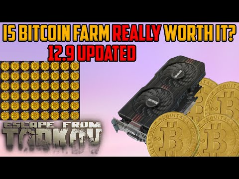 Is Bitcoin Farm REALLY worth it?*updated*FOR 12.9 WIPE-Tarkov Money Guide