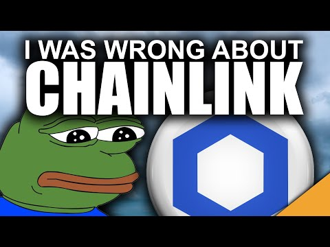I Was WRONG About Chainlink! (My WORST Prediction)
