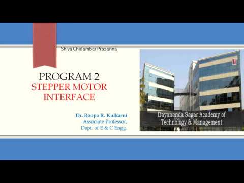 Program to Interface Stepper Motor to LPC1768