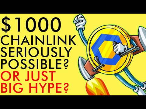CHAINLINK GOING TO $1,000? SERIOUSLY?!?! MASTER OF CRYPTO DEFI (Price Prediction)