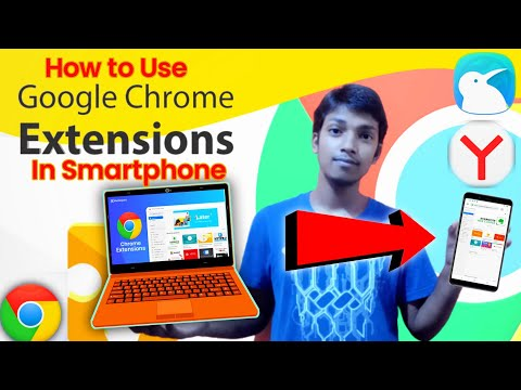 Chrome Extensions In Smartphones | Install and Enable | Using Kiwi Browser and Yandex Browser