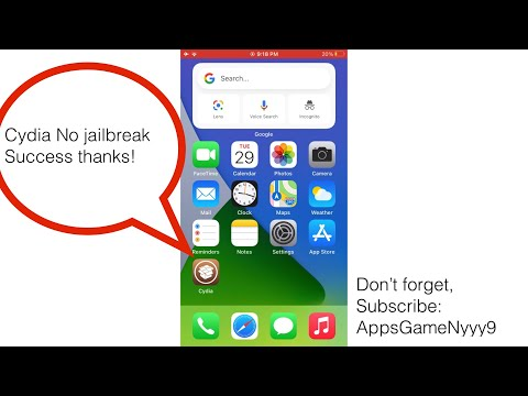 How to Install Cydia no need jailbreak or PC for iOS version for iPhone iPad
