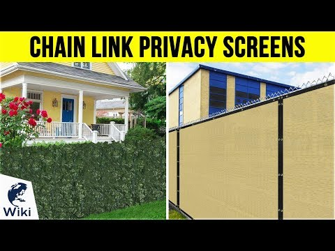 10 Best Chain Link Privacy Screens 2019