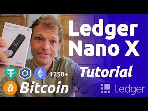 Ledger nano X Setup & Tutorial | How To Store Bitcoin, Chainlink And More Crypto On Ledger...