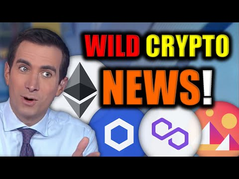 The Cryptocurrency Market is About to Go Wild! (HUGE BITCOIN AND CHAINLINK NEWS)