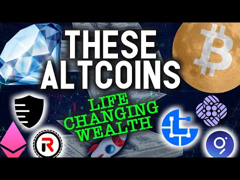 THESE ALTCOINS PRIMED FOR LIFE CHANGING WEALTH