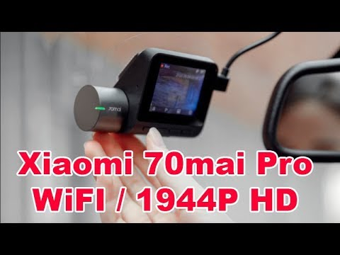 Xiaomi Mi 70mai Dash Cam Pro New Top WiFi Car DVR 1994P / Voice Control Review and Test