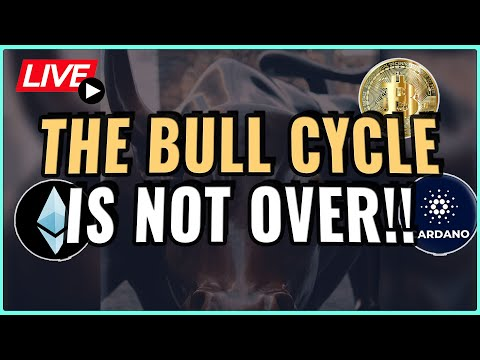 This Crypto Bull Cycle is NOT over! Don't fall for new inflow of FUD! Coffee N Crypto Live