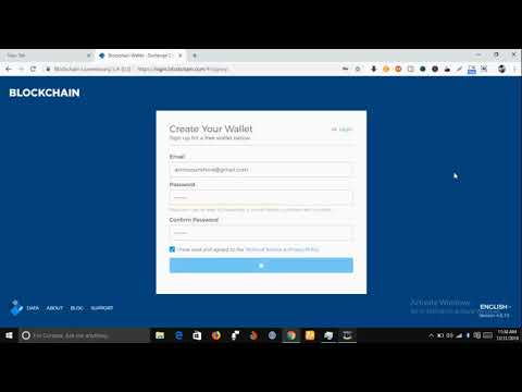 How to Create A Bitcoin Wallet  Account